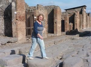Jeannette Vlietstra von Pompeireisen in Pompei